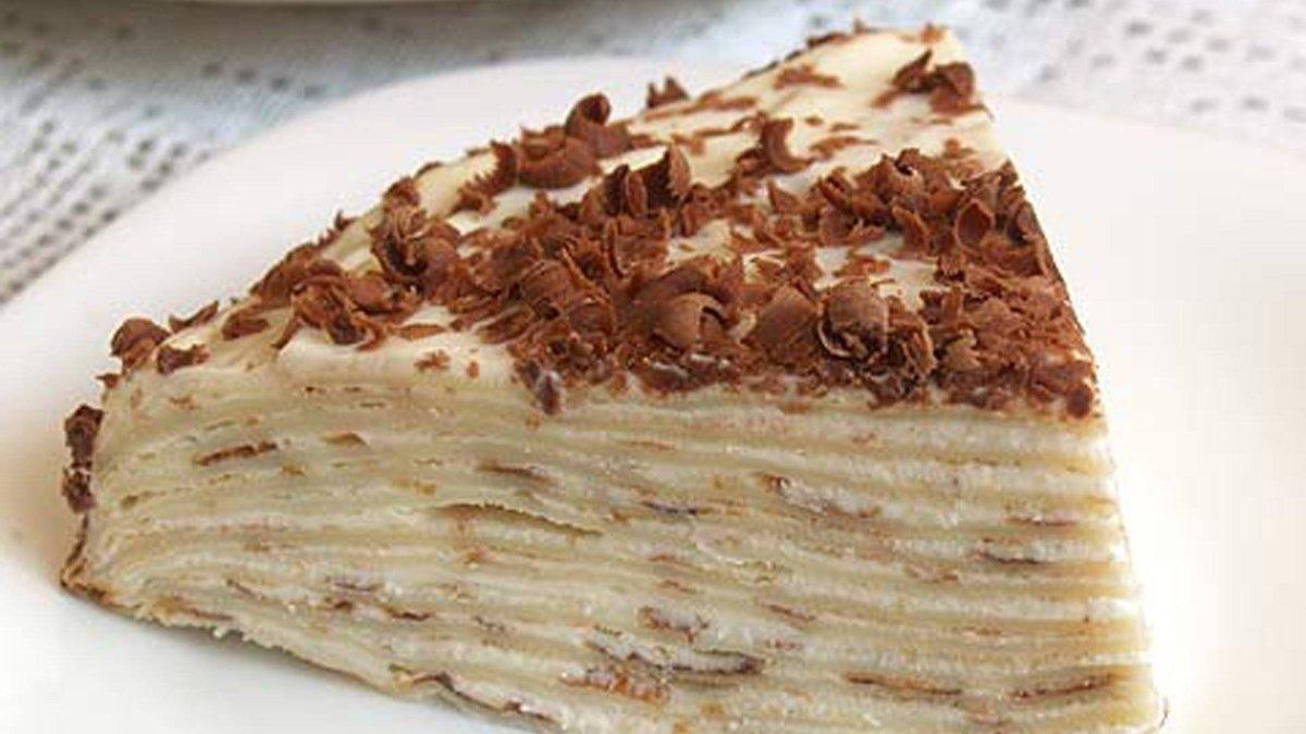 Торт блинный со сгущенкой рецепт смотреть видео онлайн