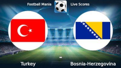 Товарищеские матчи. Турция - Босния и Герцеговина. Прогнозы на матч 11.10.2018