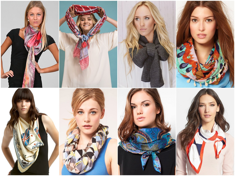 Как завязывать шарф?