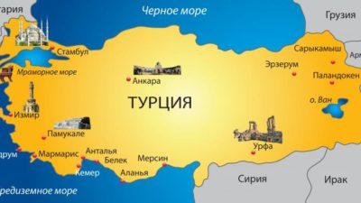 Турция на каком материке расположена?