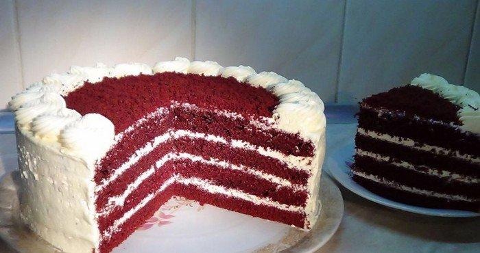 Торт красный бархат рецепт с фото пошагово ++ видео