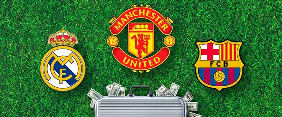 TOP -5 самых богатых футбольных клубов