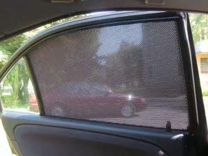 Как установить шторки на авто