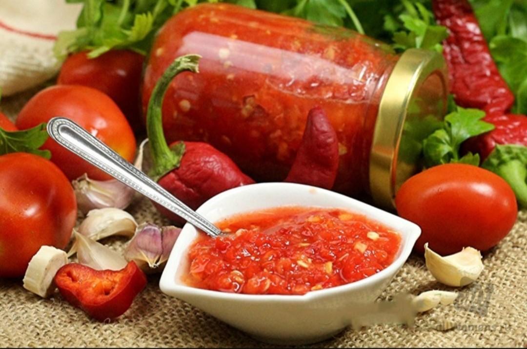 Аджика рецепт классический из помидоров на зиму с варкой