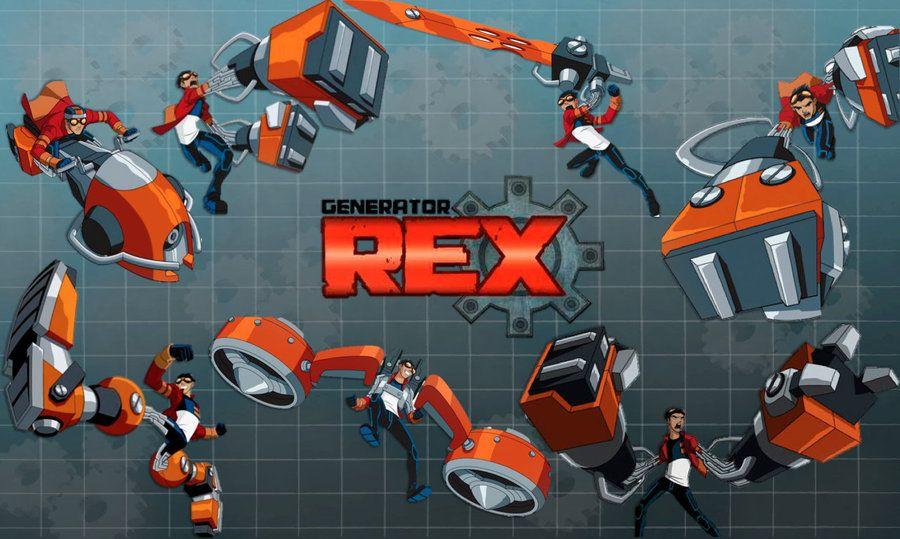 Генератор Рекс Generator Rex (2010) мультсериал 1,2,3 сезон смотреть онлайн