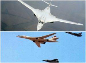 Истребители США не смогли догнать Российский бомбардировщик Ту-160