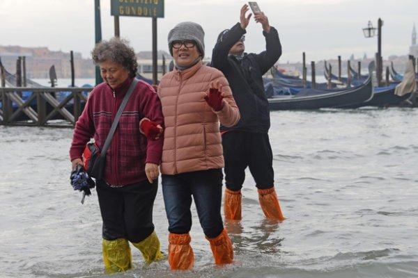 Венеция под водой, сильнейшее наводнение за последние 50 лет