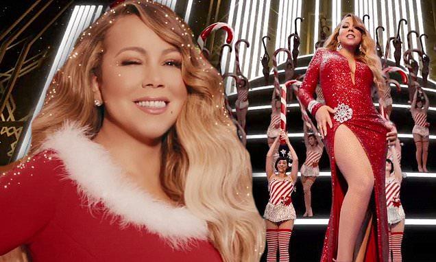 Мэрайя кэри Кристмас слушать и смотреть новый клип All I Want for Christmas Is You уже можно онлайн