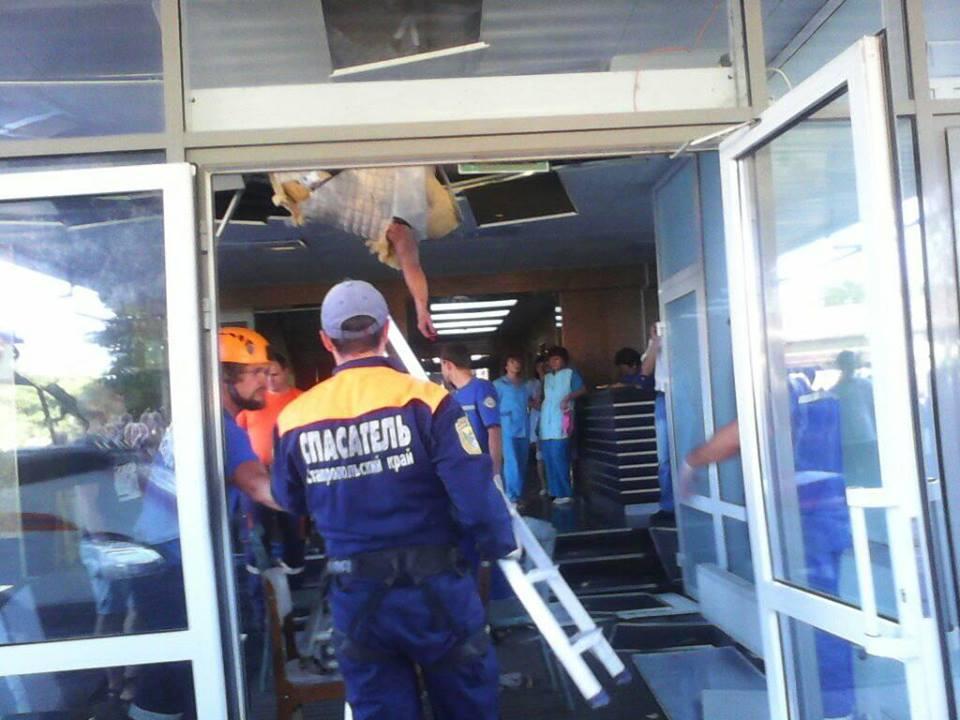 ЧП в «Европарке» Ставрополя женщина провалилось через потолок