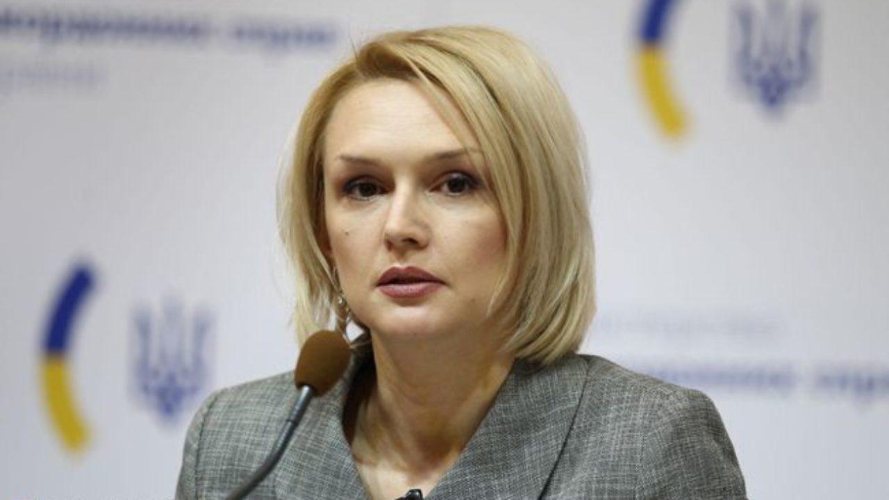 пресс-секретаря Украинского МИД Екатерины Зеленко