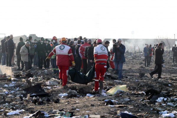 Список просаживать Украинского самолета РС752 погибших в Ираке