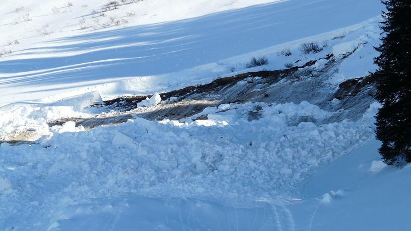 Российский турист погиб в Грузии при сходе лавины в горах