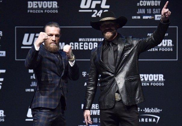 Бой Конора Макгрегора и Дональда Серроне Ковбоя UFC246 смотреть онлайн