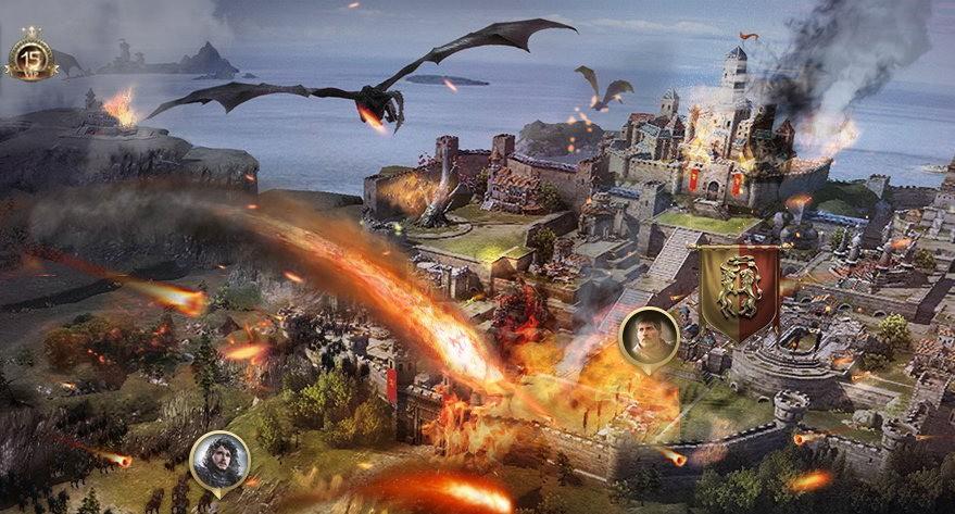 Лучшие онлайн игры - Игра престолов: Зима близко