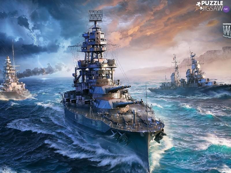 Лучший мир Кораблей в World of Warships смотрите сами!