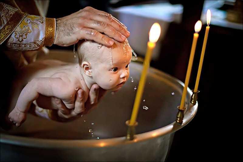 В РПЦ изменили правила крещения ребенка