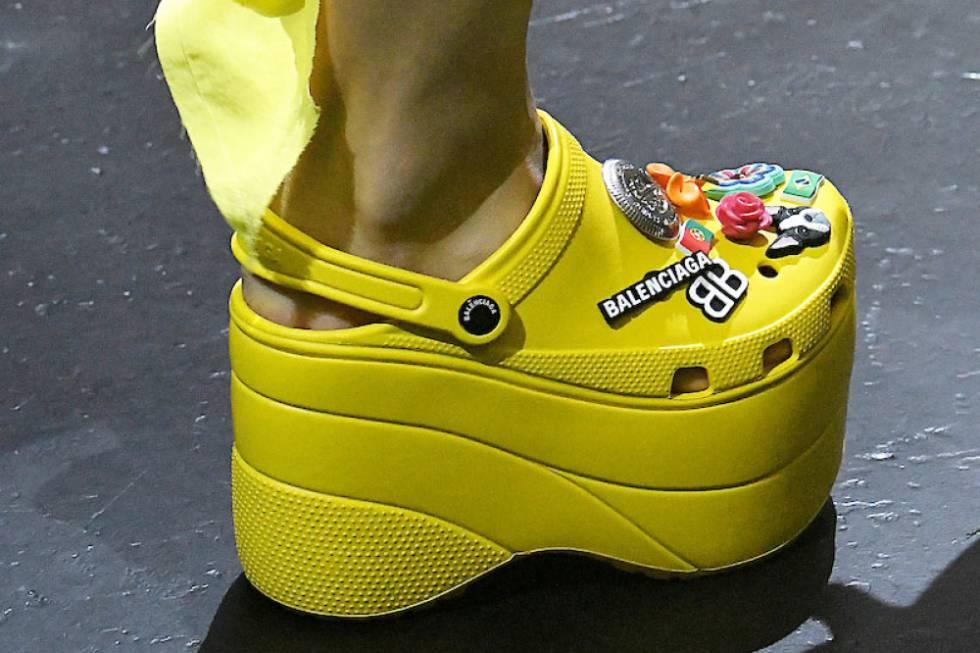 сандали Crocs и Balenciaga