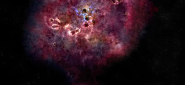 Галактика гигантских размеров возрастом в 12 миллиардов лет погасла, ученые изучают этот вопрос.