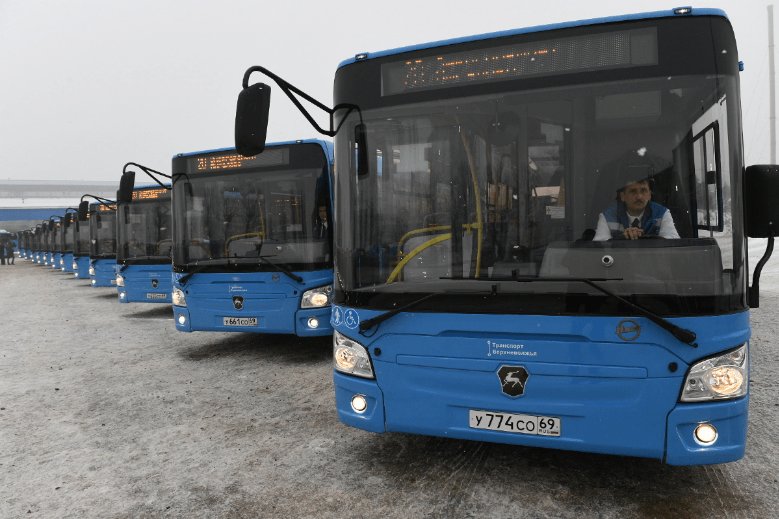 Расписание движения автобусов «Транспорта Верхневолжья» на маршруте с 3 февраля