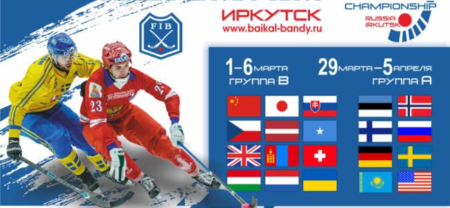 Чемпионат мира по хоккею с мячом 2020 расписание матчей