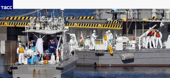 Новые зараженные на борту Японского лайнера обнаружены 8 февраля
