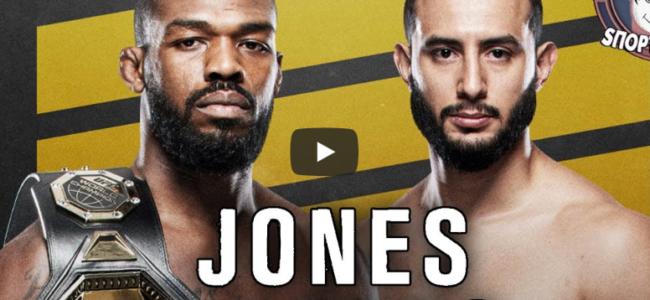 Полный Бой Джонс против Рейес UFC 247 смотреть онлайн