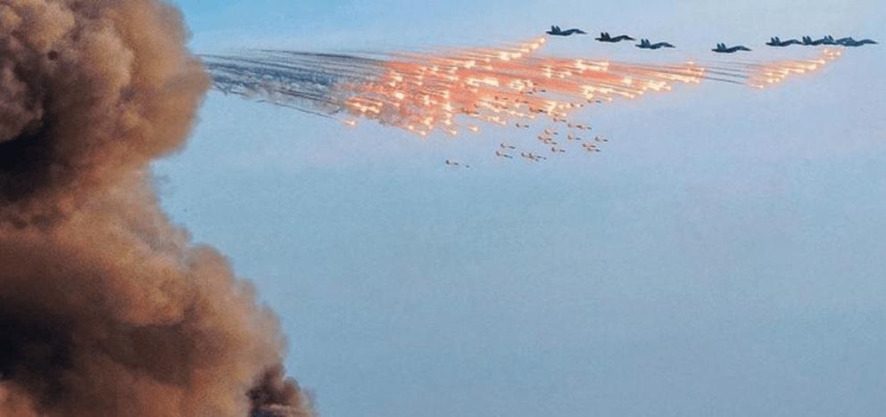 Россия дала жесткий ответ на ультиматум Турции в виде мощнейших ударов авиации