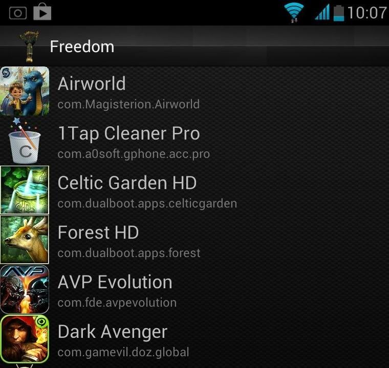 Скачать Freedom 1.8.4 на Андроид бесплатно
