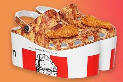 KFC показала обувь для фанатов еды из своего ресторана