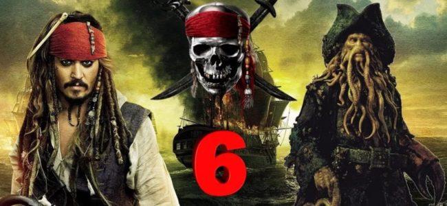 Пираты Карибского моря 6 дата выхода, новости