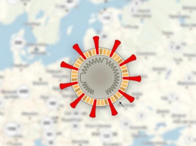 Таблица онлайн распространения коронавируса по странам мира на 20 марта 2020