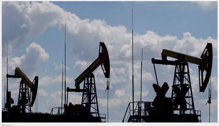 Цена на нефть марки brent упала ниже 33$ за баррель.