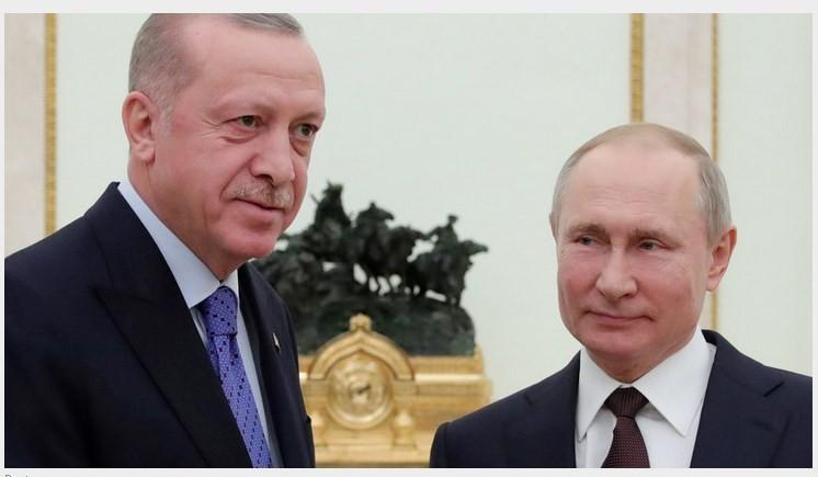 Сегодня 12 марта Путин обсудил с Эрдоганом реализацию договоренностей по Идлибу