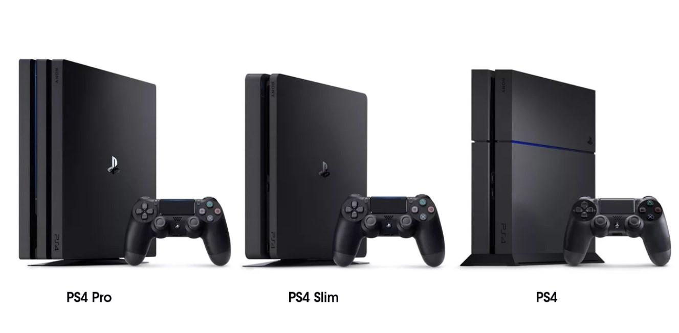 Чем PS4 slim отличается от PS4?