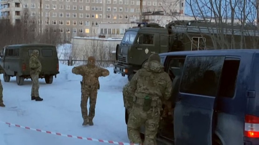 В Мурманске ликвидировали попытку теракта 4 апреля 2020