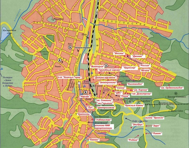 В районе города Кисловодска организовать игорную зону