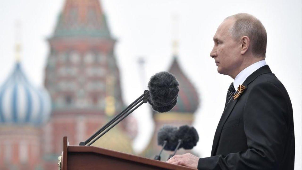 Обращение Владимира Путина 9 мая 2020 в Честь 75-летия Победы в ВОВ