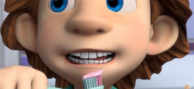 Как научить ребенка чистить зубы по мультфильмам?