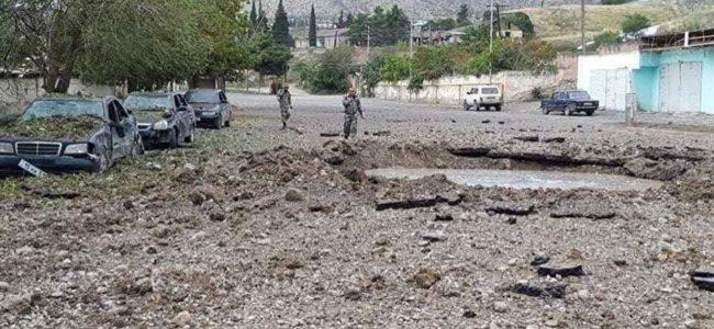 Армян крошат в пыль в Нагорном Карабахе