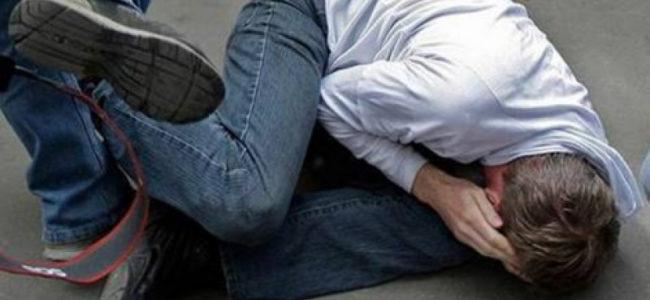 Трое алкашей избили семейную пару в Барнауле, причина известна
