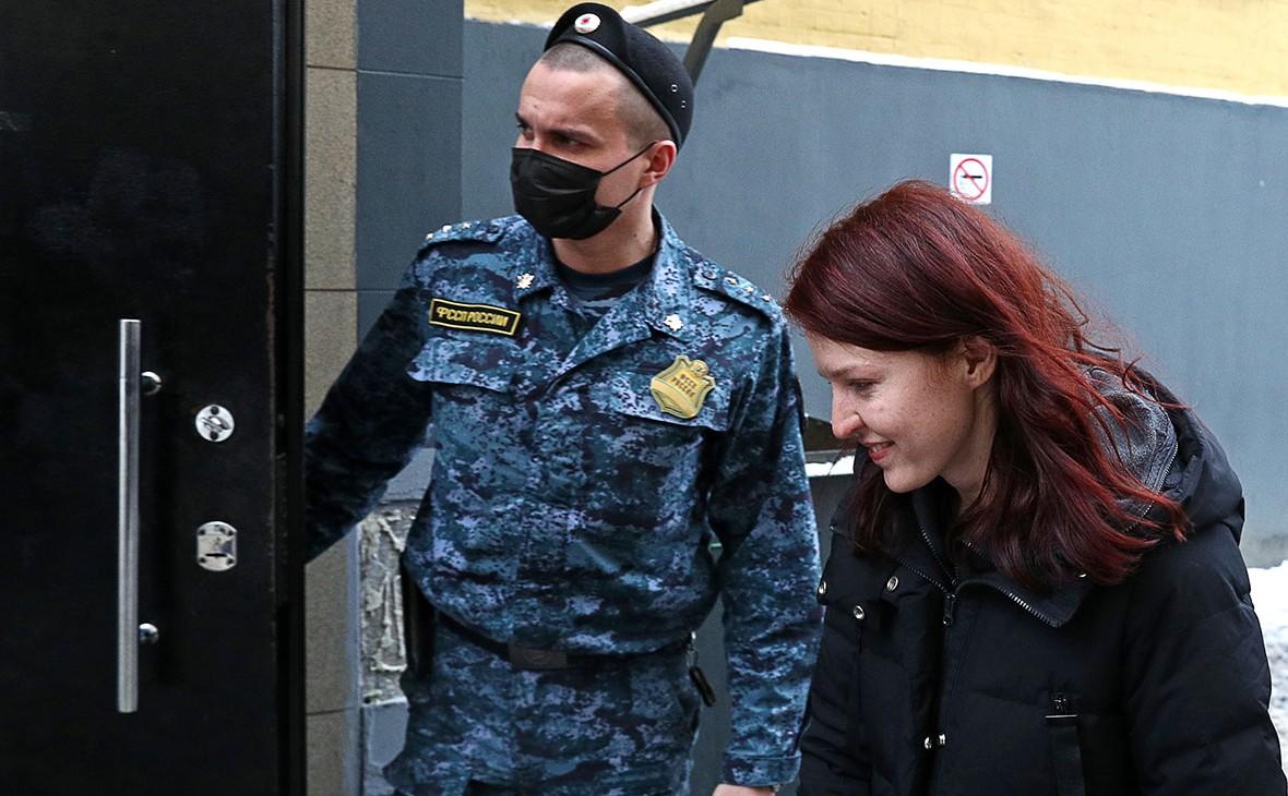 Пресс-секретарь Алексея Навального Кира Ярмыш арестована на 9 суток